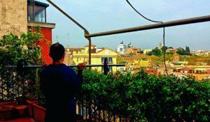 Allenamento a casa Roma